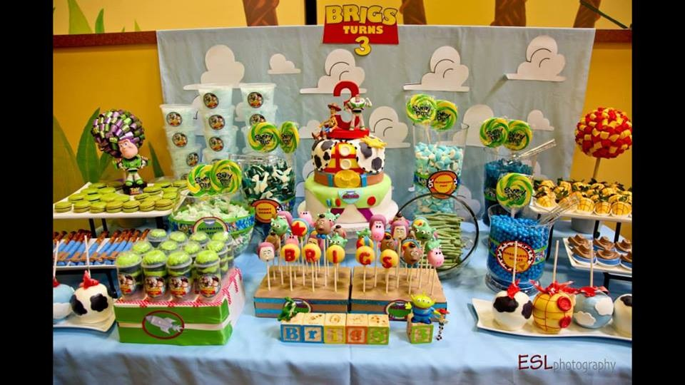 Toy Story 3 Theme Dessert Table