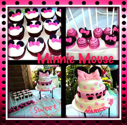 Pink Minnie Mouse Theme
