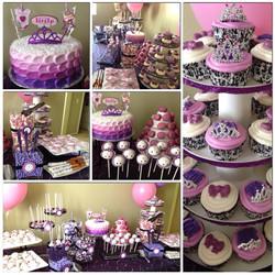 Purple and Pink Princess Theme