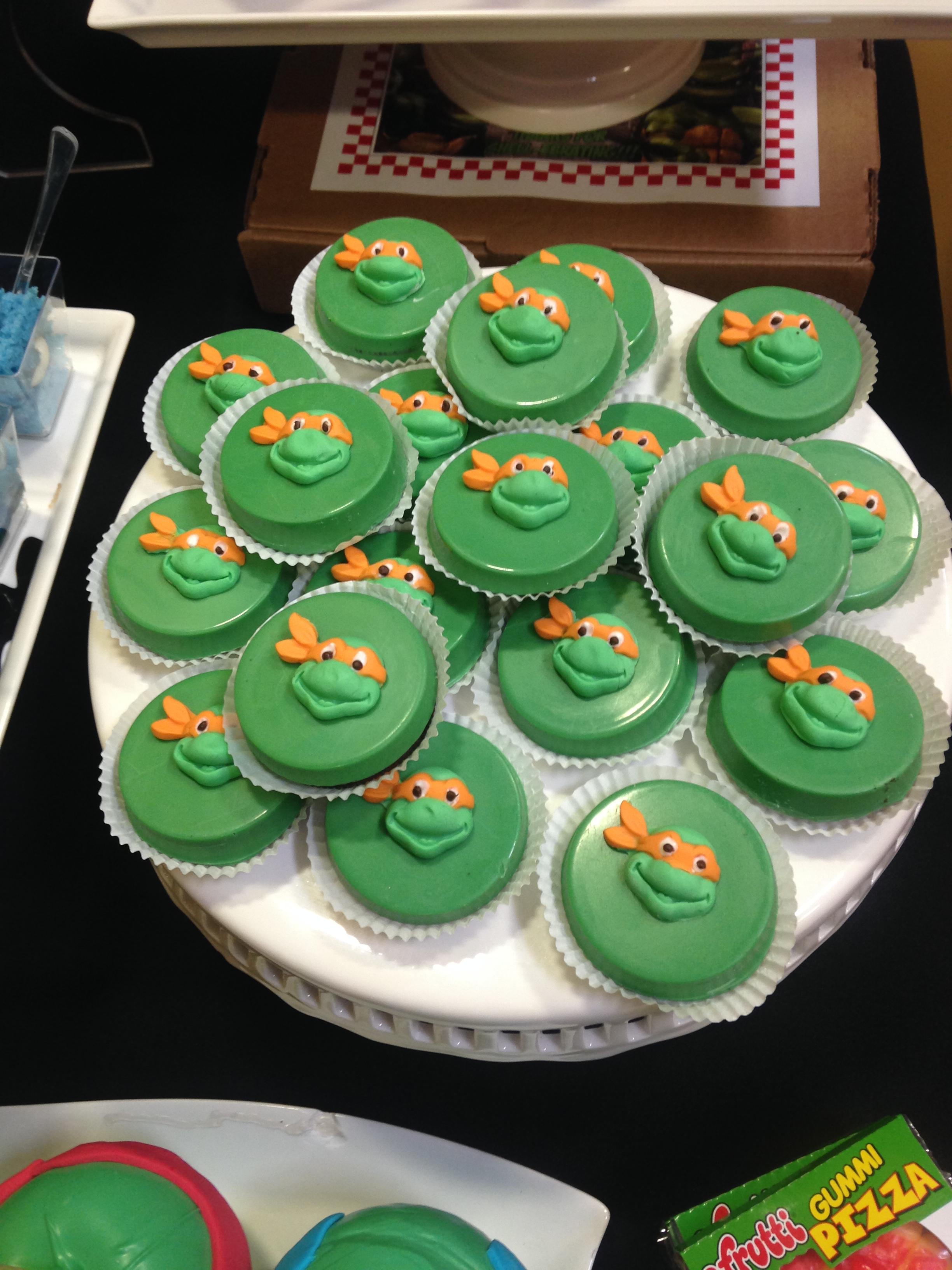 Teenage Mutant Ninja Turtles Cookies