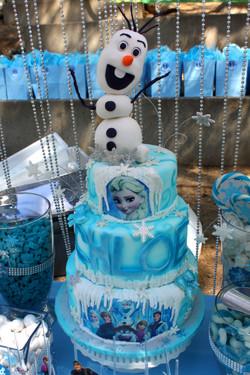Olaf (Frozen) Cake Topper