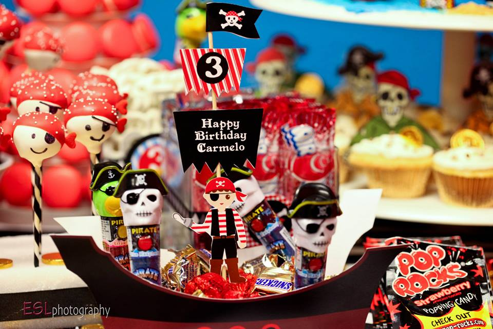 Pirate Theme Candies