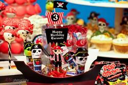 Pirate Theme Candies