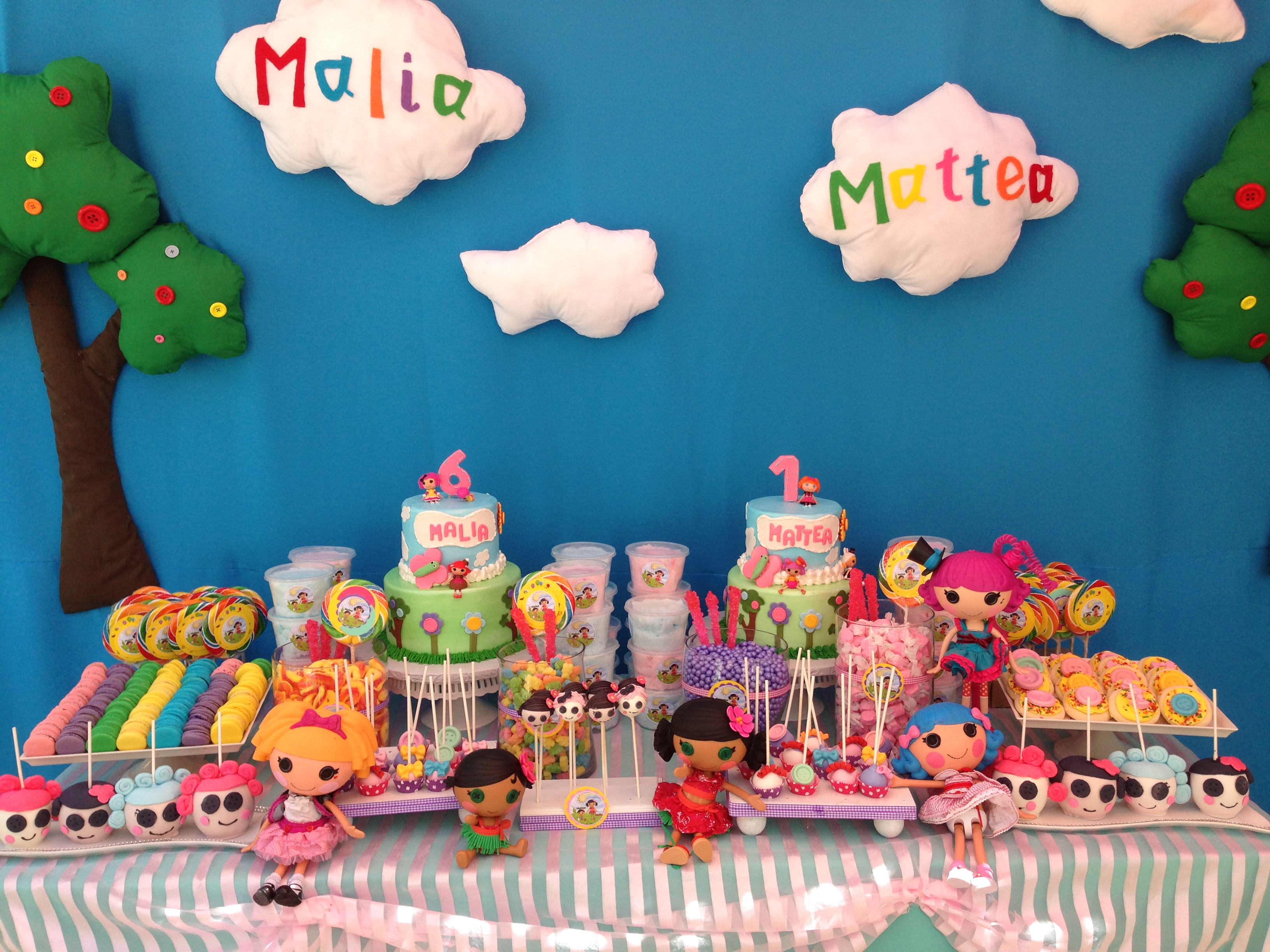 Lalaloopsy Theme Dessert Table