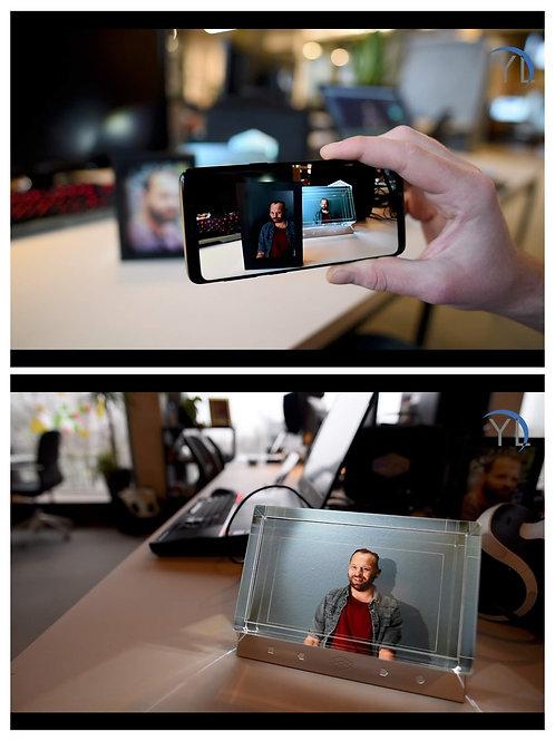 Your Legacy  Mobiele AR App + Holografisch Scherm