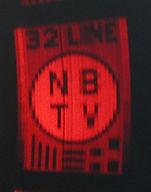 """Grant Dixon"" 32-line NBTV test pattern"