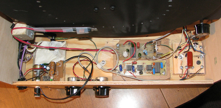 Home-made Televisor Electronics