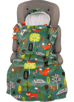 Green Forest Friends BuggyWrap