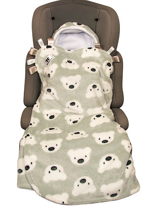 Grey Teddies BuggyWrap