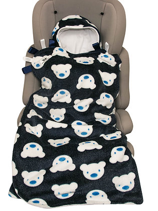 Navy Teddies BuggyWrap