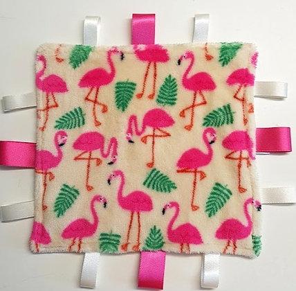 Flamingoes mini comforter