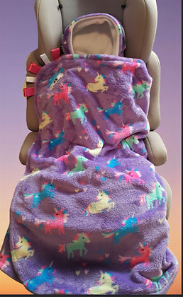 Lilac Unicorns BuggyWrap