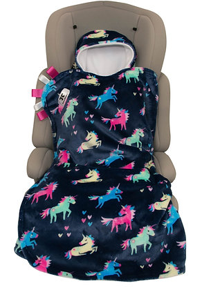 Navy Unicorns BuggyWrap