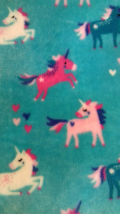 Unicorns mini comforter