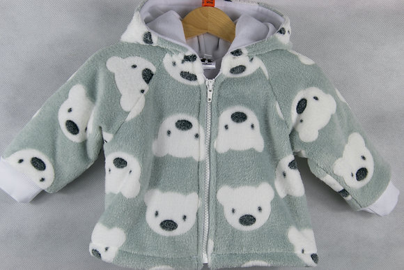 Grey teddies jacket