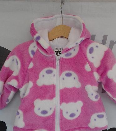 Pink teddies jacket
