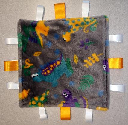 Dinosaurs, mini comforter