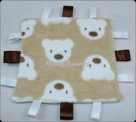 Beige Teddies mini comforter
