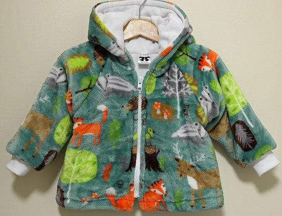 Green Forest Friends Jacket