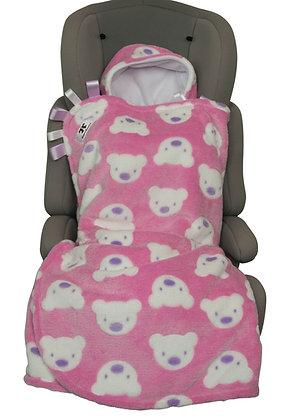 Pink Teddies BuggyWrap
