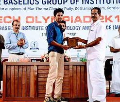 mbits college. mar basalios college of engineerning robotics and drone making training in kerala