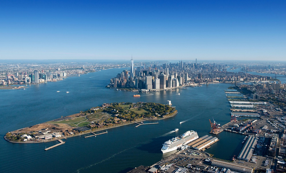 Consolidation of Estuary in New York City