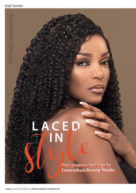 Black Beauty Wig Collection Feature