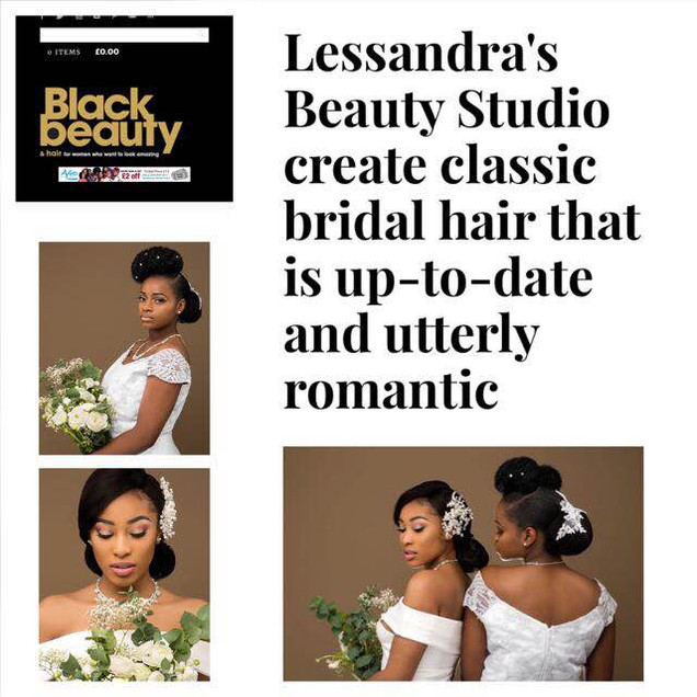 Black Beauty Bridal Collection