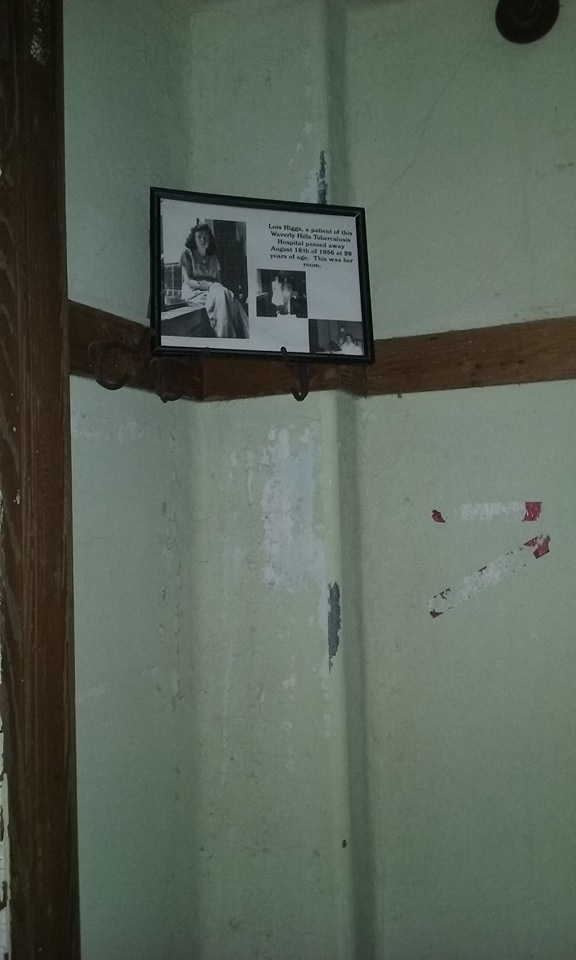 Lois Higg's Room at Waverly Hills