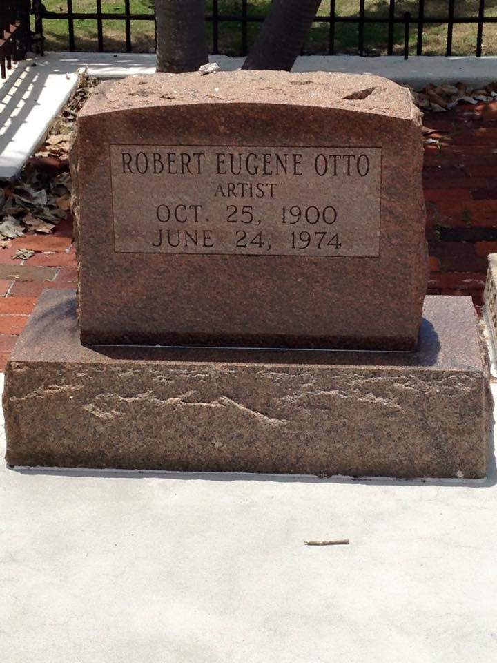 Robert Otto's Tombstone