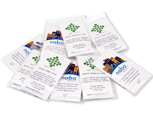 Single Serving Promo Tea Bags