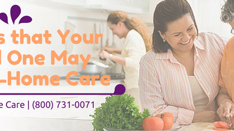When is the Right Time for In-Home Care?