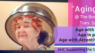 "Supporting the Senior Community: ""Aging as Art"" Exhibit"