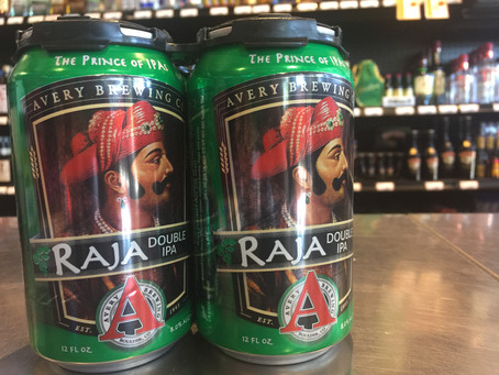 Avery Brewing Co - Raja Double IPA in a 4 pack!