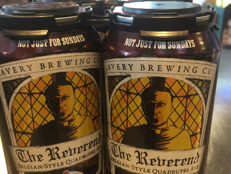 The Reverend - by Avery Brewing