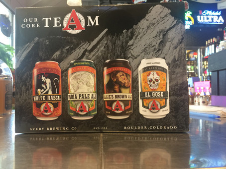 Avery Brewing Co's mixed 12 pack.