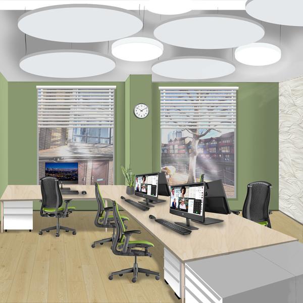 Zoe Allen School Reception Office design