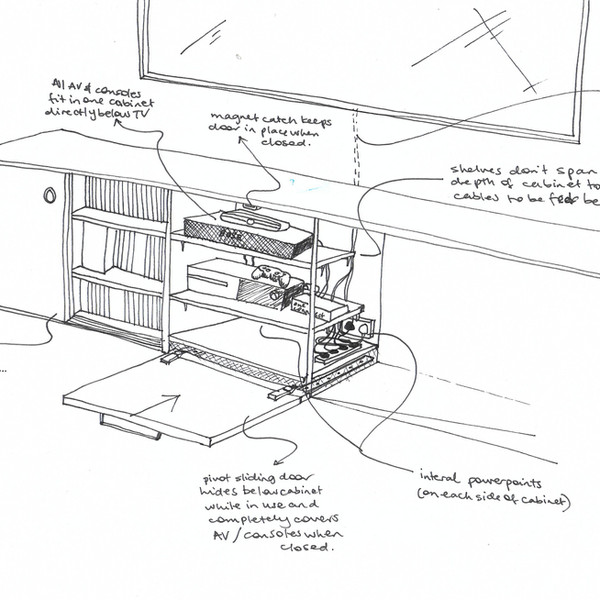 Residential Detailing sketch