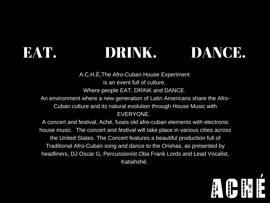 Eat Drink Dance