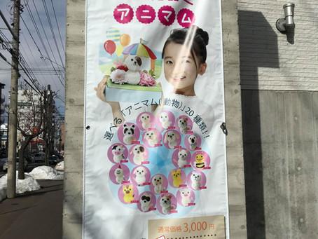 【花屋さとうはなみつフォレスト】樣、アニマルブーケポスターがリリースされました!