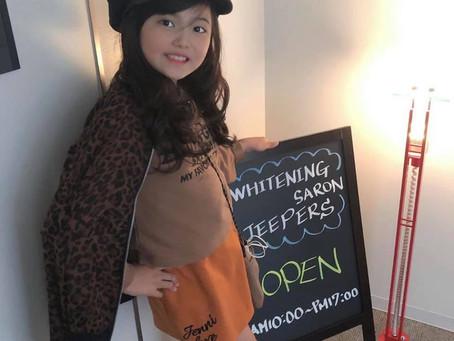 モデル事務所jeepersのキッズモデル小野寺結月ちゃん親子ご来店!!
