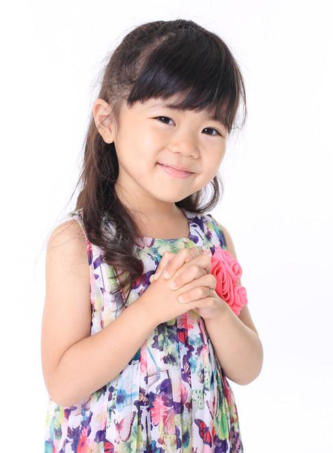 名前:YUNA  身長:100cm  誕生日:2015.1