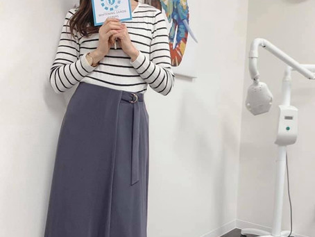 本日はモデル事務所jeepersさとみちゃんがご来店!!