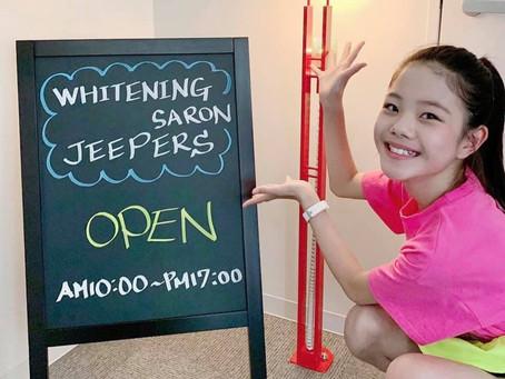 モデル事務所jeepersキッズモデル菜畑結ちゃん親子がご来店!!