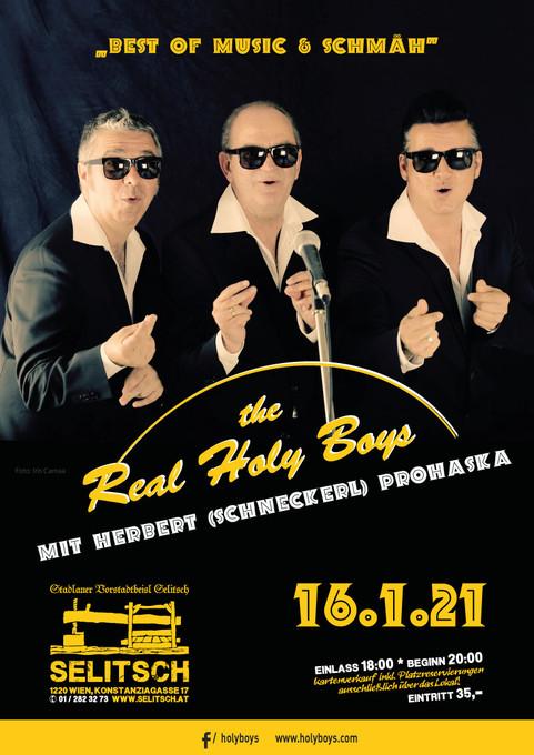 16.1.2021 The Real Holy Boys mit Herbert Prohaska - Selitsch