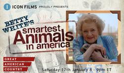 Betty White's Smartest Animals TX card