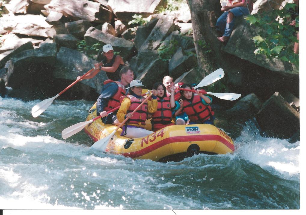 Robin nantahla falls 2001.jpg
