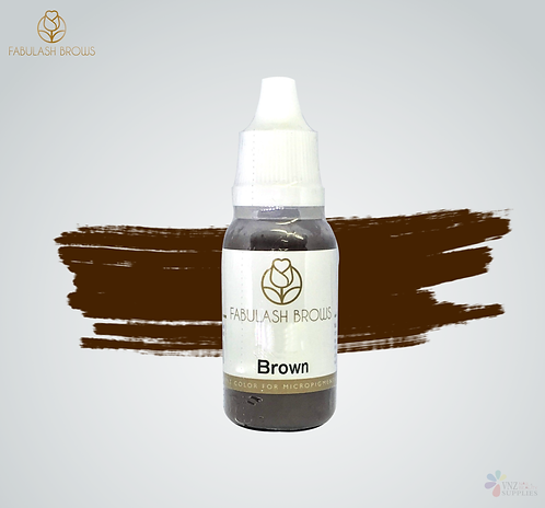 Fabulash Brows Pigment 15ml_Brown