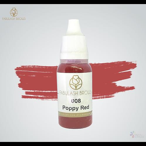 Fabulash Brows Pigment 15ml_Poppy Red