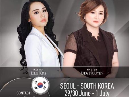 International Microblading Training in Seoul, South Korea